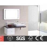 China China Factory Directly Provide Europe design white bathroom corner cabinet on sale