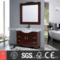 China 2014 Latest european style bathroom mirror cabinet stainless on sale