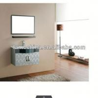 China stainless steel bathroom mirror cabinet on sale