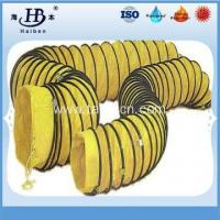 Quality Insulated flexible pvc duct hose for mechanical ventilation for sale