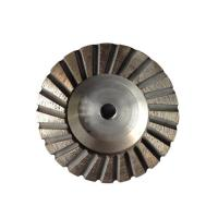 Quality 4 Inch Aluminum Turbo Diamond Grinding Cup Wheel for Granite Stone for sale