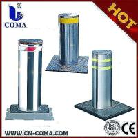 Quality Hydraulic lift bollard/retractable bollard with traffic light for sale