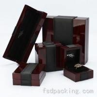 Quality Customized Lacquer Wood Jewelry Boxes FMH061 for sale