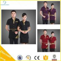 China New Stytle Restaurant Waiter Uniform Design, Hotel Waiter Uniform on sale