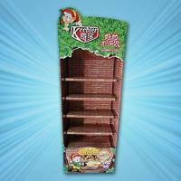 Best low calories bread cardboard floor display racks wholesale