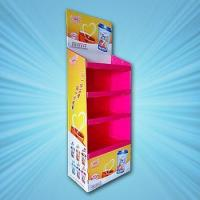 Buy cheap Corrugated retail store display rack from wholesalers