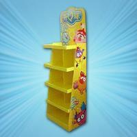Quality Children toys cardboard floor display for sale