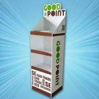 Quality cardboard shelf displays for sale