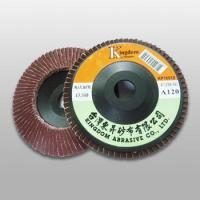Quality KP100 KP-A/O Aluminum Oxide Flap Disc (Plastic Backing) for sale
