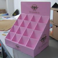 Buy cheap yacai248 friendly material cardboard counter displays from wholesalers