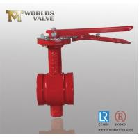 Handle front trenches Groove Valve