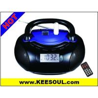 Quality KS-128RC BOOMBOX RADIO WITH USB SD AUX IN HEADPHONE JACK for sale
