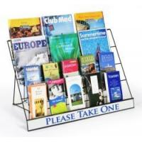 Best 4-Tiered Wire Display Rack for Tabletops,Open Shelves, wholesale