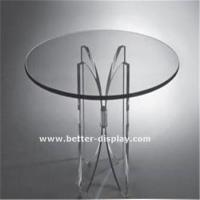 Quality Cosmetic Display Acrylic Coffee Table for sale