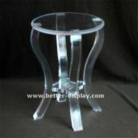 Quality Cosmetic Display Acrylic Chair for sale