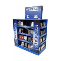 Best DVD/CD pop hot sales cardboard pallet display wholesale