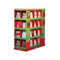 Best book cardboard pallet display floor units wholesale