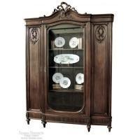 Quality Antique French Louis XVI Display Armoire for sale