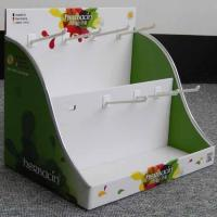 Buy cheap yacai283 foldable cardboard counter display box from wholesalers