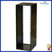 China Rackmount chassis 16U 9.5 inch Half-Rack 300mm Stackable Rack Cabinet on sale
