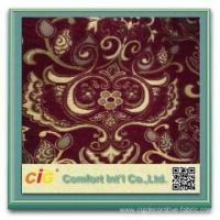 Best Jacquard Polyester Sofa Fabric chenille curtain wholesale