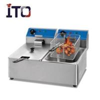 Buy cheap Catering Series 2 Tank 2 Basket electric fryer ITO-EF82A from wholesalers