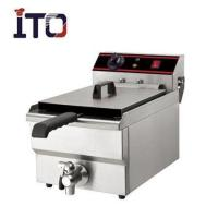 Buy cheap Catering Series 1 Tank 1 Basket electric fryer ITO-EF101 from wholesalers