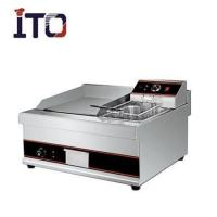 Buy cheap Catering Series Electric griddle with electric fryer ITO-EG908 from wholesalers