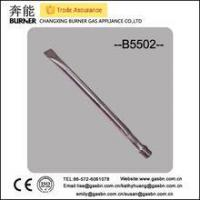 Quality B5502 stainless steel straight gas grill tube commercial gas burner for sale