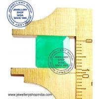 China Certified Natural Emerald Stone (Zambia Mines Panna Stone) Unheated Untreated AAAAA on sale