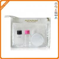 Quality Clear PVC Makeup Pouch With Zipper for sale