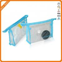 Quality Clear file bag with zipper for sale