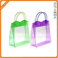 Quality Small PVC Tote Toiletry Bag with Handle for sale