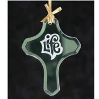 Best Cross Jade Glass Ornament wholesale