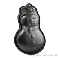 Buy cheap Christmas snowman iron metal cake baking mold ICM-043 from wholesalers