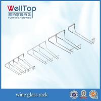 China cheap hanging wine glass rack wholsale on sale