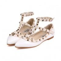 Quality Europe fashion rivet color matched women flats YS-C4395 for sale