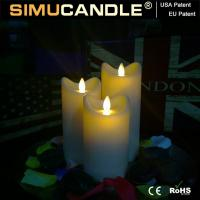 Quality 3.5 Inches Resin Candle Resin Candle Set for sale