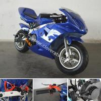 Quality Cheap 2-Stroke 2 Wheel 49cc Pocket Bike 49cc Petrol Pit Bike for sale