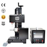 Buy cheap 7.5 Inch Monitor CNC Rotary Dot Peen Marking Machine BM-09TCY from wholesalers