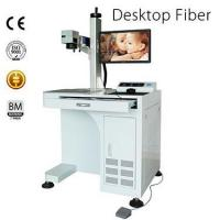 Buy cheap Desktop Fiber Laser Marking Machine from wholesalers