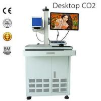Buy cheap Desktop CO2 Laser Marking Machine from wholesalers