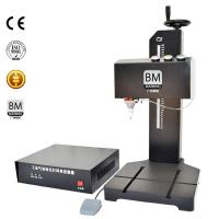Buy cheap CNC Nameplate Steel Metal Pneumatic Marking Machine from wholesalers