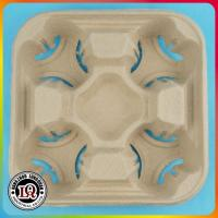 China Disposable Paper Pulp 5 cup carriers on sale