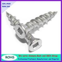 Quality countersunk head square wood screws for sale