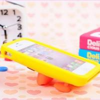 Best cases For iphone BIG mouth duck silicone rubber phone shell for iphone6/6plus/5/5s/4/4s wholesale