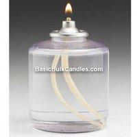 Quality Emergency Liquid Survival Candles, 50 Hour Paraffin Lamps, Bulk Pack of 48 for sale