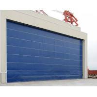 Quality SDM Upper Folding Door With Soft Curtain for sale