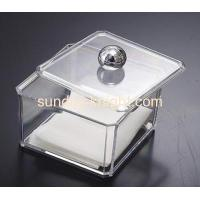 China Acrylic display box for tissue paper DBK-012 on sale