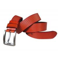 Quality Hot selling good quality men real leather belt brands for sale